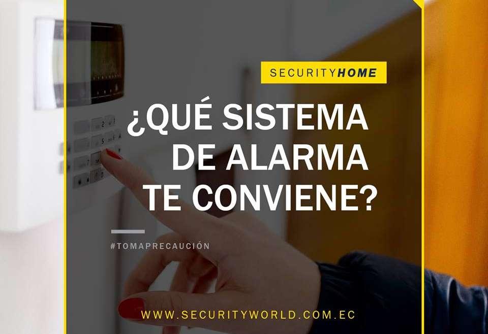 ¿Necesitas una Alarma?